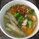 Sup Kaki Ayam