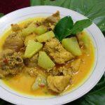Gulai Ayam Kampung Labu Siam